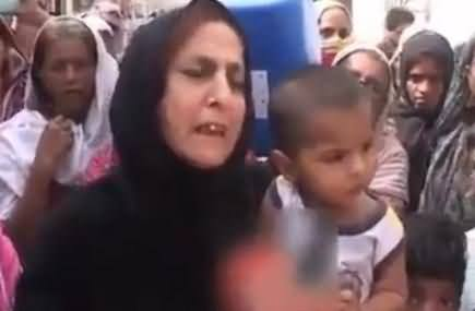 A Woman's Message For Qaim Ali Shah in Open Words on Water Crisis: Not For Children