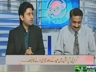 Aaisy Nahi Chalay Ga (Karachi Operation To Speed Up After Eid) – 7th July 2015