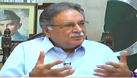 Aaj Exclusive (Pervez Rasheed Exclusive Interview) - 27th July 2014