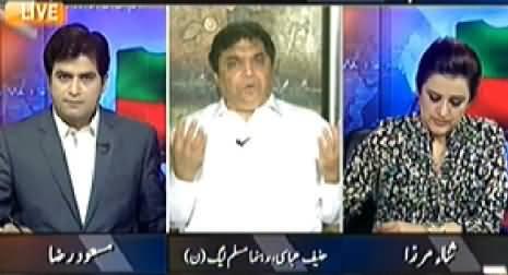 Aaj Geo News Ke Saath (Govt and PTI Face To Face) – 20th November 2014