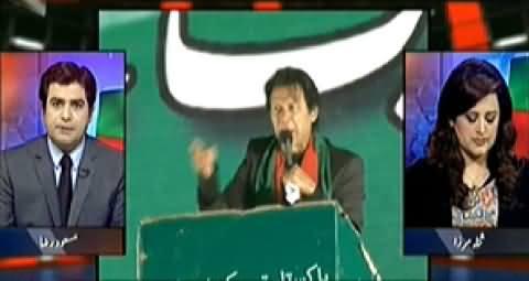 Aaj Geo News Ke Saath (PTI Plan C Without Any Planning) - 1st December 2014