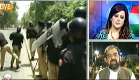 Aaj Geo News Ke Saath (Special Transmission on Dharnas) – 26th August 2014