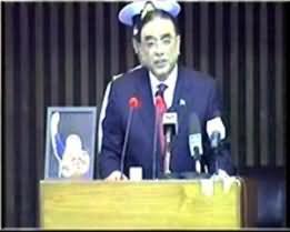 Aaj Kamran Khan ke Saath - 10th June 2013 (Sadar Zardari Ka Parliament Se Khitaab)