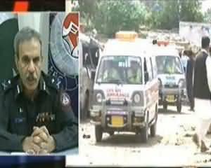 Aaj Kamran Khan Ke Saath - 12th August 2013 (Riasat Pakistan Pehle Police Ko Tahfuz De, Phir Awam Ko)