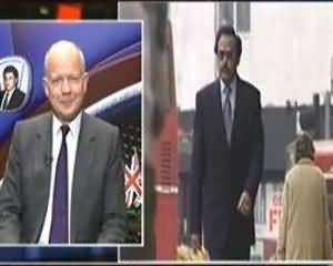 Aaj Kamran Khan ke Saath - 18th July 2013 (London Ke Wazir Kharja Pakistan Mein Kya Important Message Laye Hain)