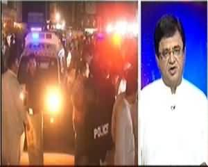 Aaj Kamran Khan Ke Saath (Interior Sindh Main Dehshat Gardi Ke 23 Paigam Kis Ne Diye?) - 29th October 2013