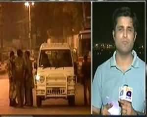 Aaj Kamran Khan Ke Saath (Karachi Main Operation Ka Dosra Din...) - 6th September 2013