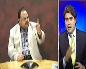 Aaj Kamran Khan Ke Saath (Karachi Main Sindh Hukumat Ka Crack Down) - 29th August 2013
