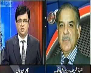 Aaj Kamran Khan Ke Saath (Metro Train Project in Lahore) – 22nd May 2014