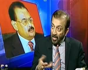 Aaj Kamran Khan Ke Saath (MQM Presents Bill For Overseas Pakistanis Votes) - 28th March 2014