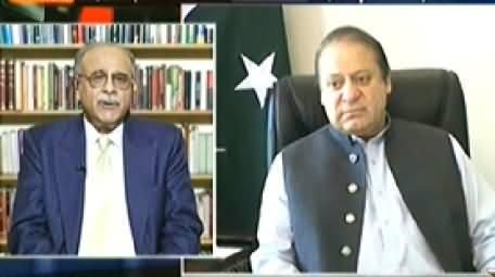 Aaj Kamran Khan Ke Saath (Najam Sethi Resigns From PCB Chairmanship) – 21st July 2014
