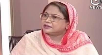 Aaj Rana Mubashir Kay Saath (Faryal Talpur Interview) Part-1 – 31st October 2017