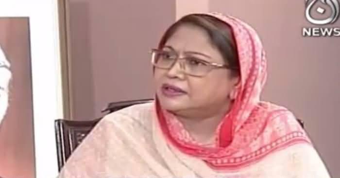 Aaj Rana Mubashir Kay Saath (Faryal Talpur Interview) Part-2 – 1st November 2017