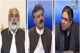 Aaj Rana Mubashir Kay Saath (Hamza Shahbaz  & NAB) – 6th April 2019