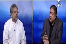 Aaj Rana Mubashir Kay Saath (Shahid Khaqan Abbasi Exclusive) – 25th May 2019