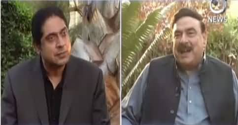 Aaj Rana Mubashir Kay Saath (Sheikh Rasheed Interview) – 18th October 2016