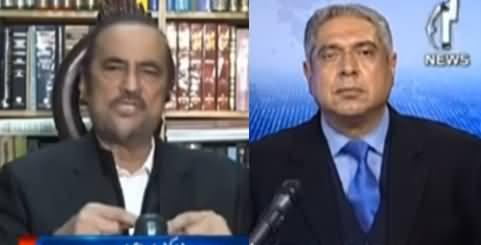Aaj Rana Mubashir Kay Sath (Babar Awan Interview) - 1st January 2021