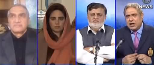Aaj Rana Mubashir Kay Sath (Senate Election) - 19th February 2021