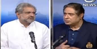 Aaj Rana Mubashir Kay Sath (Shahid Khaqan Abbasi Interview) - 22nd May 2020