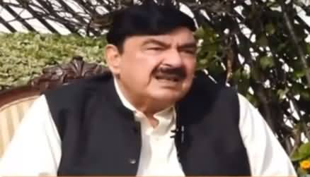 Aaj Rana Mubashir Kay Sath (Sheikh Rasheed Interview) - 25th October 2020