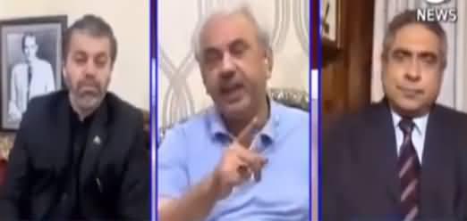 Aaj Rana Mubashir Kay Sath (Third Year of Govt) - 20th June 2021