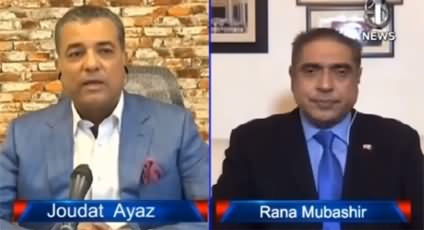 Aaj Rana Mubashir Kay Sath (US Presidential Election) - 30th October 2020