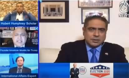 Aaj Rana Mubashir Kay Sath (US Presidential Election) - 31st October 2020