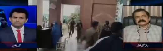 Aaj Shahzaib Khanzada Kay Sath (Ahsan Iqbal Per Hamla) – 7th May 2018