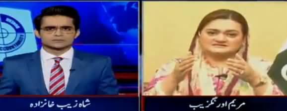 Aaj Shahzaib Khanzada Kay Sath (DG ISPR Presser) – 10th July 2018