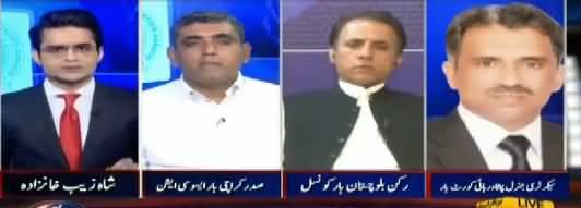 Aaj Shahzaib Khanzada Kay Sath (Judicial Activism) – 30th March 2018