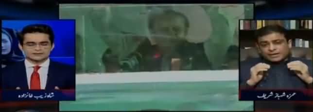 Aaj Shahzaib Khanzada Kay Sath (Nawaz & Maryam Coming Back) – 9th July 2018