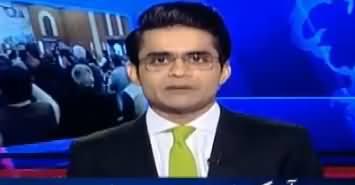 Aaj Shahzaib Khanzada Kay Sath (PMLN Ka Bara Faisla) – 27th February 2018