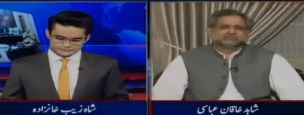 Aaj Shahzaib Khanzada Kay Sath (PMLN Ka Dhandli Ka Shoor) – 7th June 2018