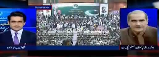 Aaj Shahzaib Khanzada Kay Sath (PMLN Strategy) – 3rd October 2017