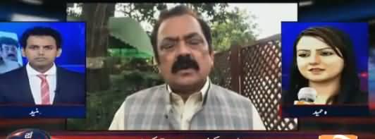 Aaj Shahzaib Khanzada Kay Sath (Rana Sanaullah Remarks) – 1st May 2018