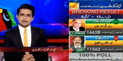 Aaj Shahzaib Khanzada Kay Sath (Rangers Issue, AJK Elections) - 21st July 2016