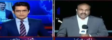 Aaj Shahzaib Khanzada Kay Sath (Senate Election) – 9th February 2018