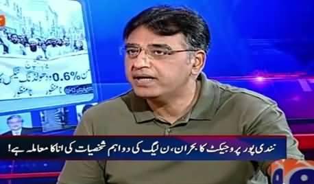 Aaj Shahzaib Khanzada Ke Saath (Asad Umar Support Withholding Tax?) – 10th September 2015