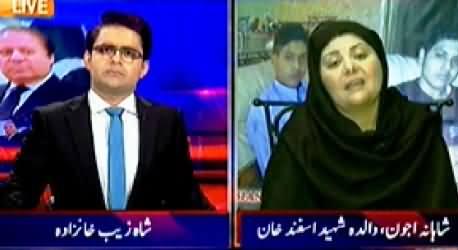 Aaj Shahzaib Khanzada Ke Saath (Families of Peshawar Victims) - 2nd February 2015