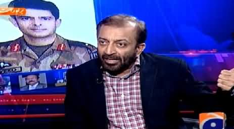 Aaj Shahzaib Khanzada Ke Saath (Federal Govt Increasing Role in Karachi) – 25th March 2015