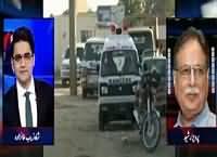Aaj Shahzaib Khanzada Ke Saath (Federal Govt Vs Sindh Govt) – 24th December 2015