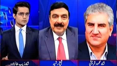 Aaj Shahzaib Khanzada Ke Saath (Hakumat Ka Crackdown) - 27th October 2016