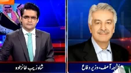 Aaj Shahzaib Khanzada Ke Saath (Pakistan Army Will Fight in Yeman?) – 26th March 2015