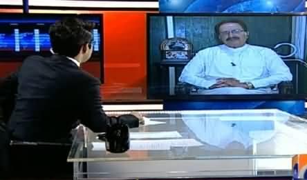 Aaj Shahzaib Khanzada Ke Saath(PPP Main Ikhtilafaat Barh Gaye) – 12th February 2015