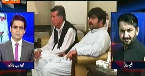 Aaj Shahzaib Khanzada Ke Saath (PTI In Trouble) – 3rd June 2015