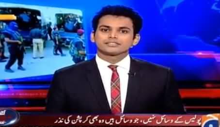 Aaj Shahzaib Khanzada Ke Saath (Sindh Police Mein Khamiyan) - 15th July 2016