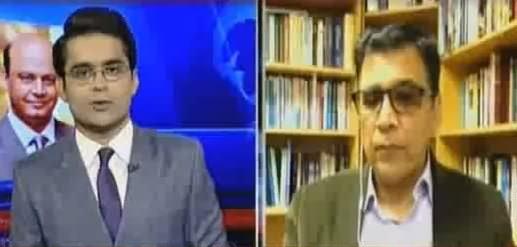 Aaj Shahzeb Khanzada Kay Saath (MQM Mein Taqseem) - 22nd September 2016