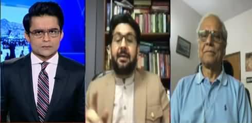 Aaj Shahzeb Khanzada Kay Sath (Afghanistan, Minar e Pakistan Incident) - 18th August 2021