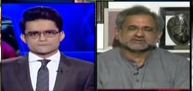 Aaj Shahzeb Khanzada Kay Sath (PPP Vs PDM, Faez Isa Case) - 13th April 2021