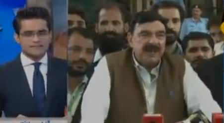 Aaj Shahzeb Khanzada Ke Sath (Election 2018) – 23rd July 2018